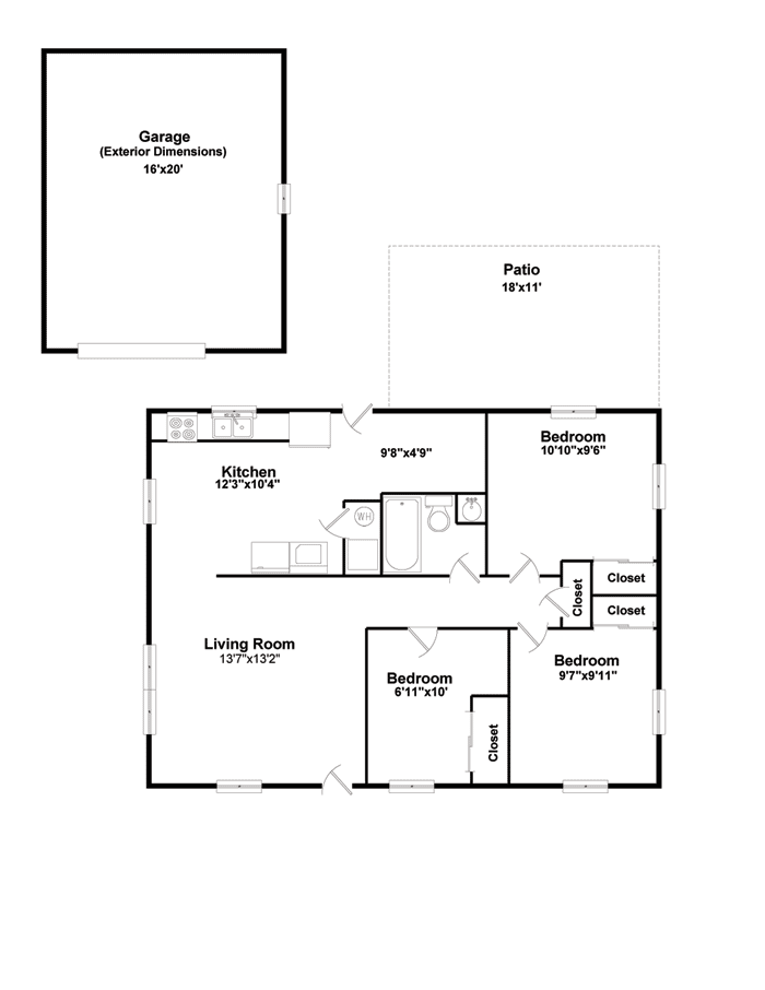 Interactive Floor Plan For 7 Enlow Decatur Il 62521