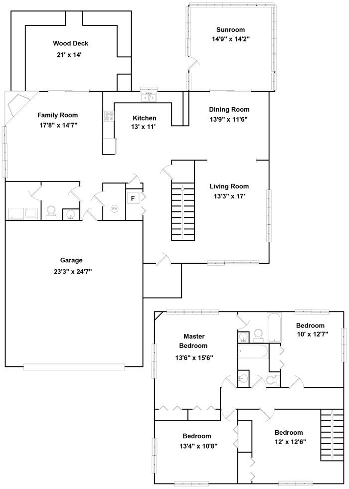 Homesight property interactive floor plan for Interactive office floor plan